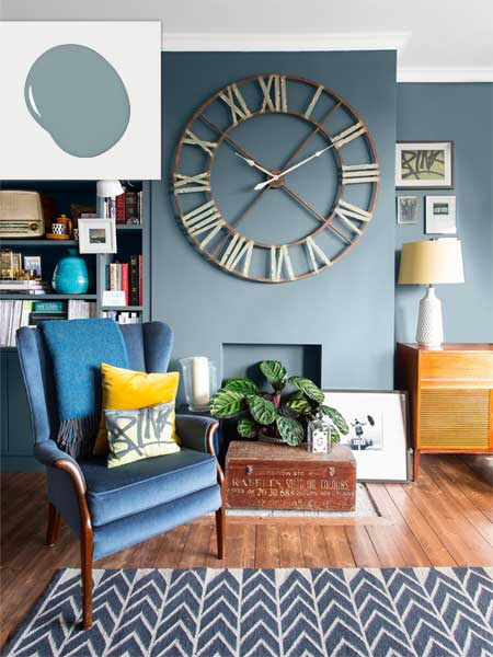 Twilight Blue No Fail Colors For Living Spaces This