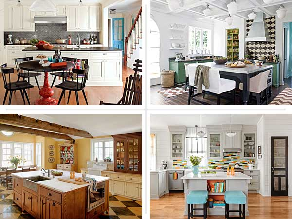 four examples of creative kitchen upgrades