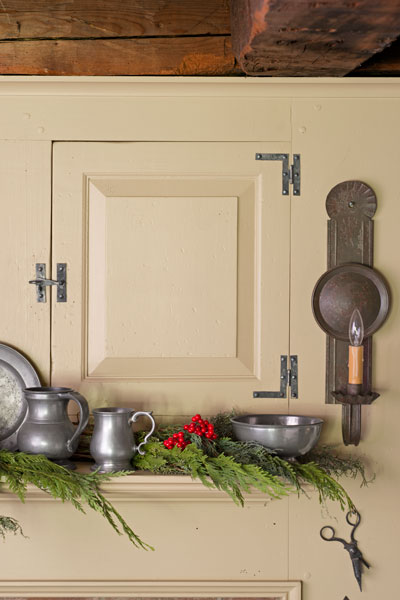 Colonial Style Cupboard Farmhouse Kitchen Revival This