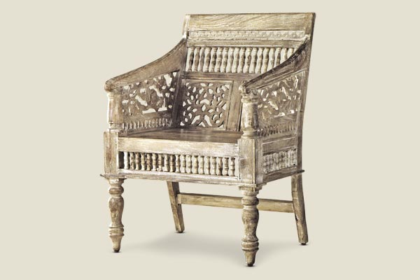 Carved chair create a well traveled terrace this old house for 10180 old well terrace