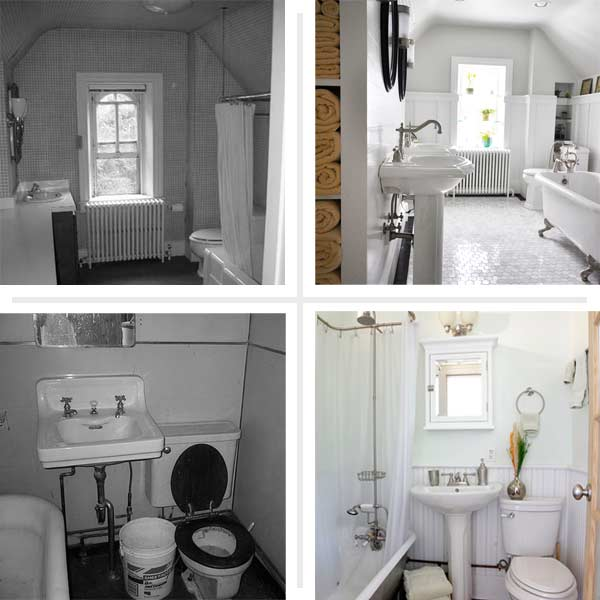 Big Payoff Best Bath Before And Afters 2014 This Old House
