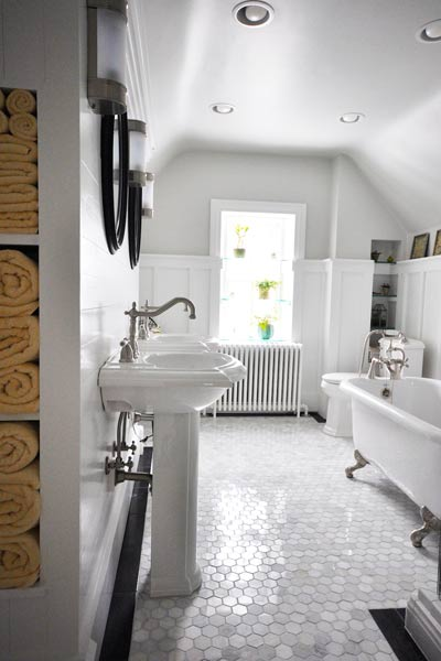 Winner An Outdated Guest Bath Becomes A Serene Oasis