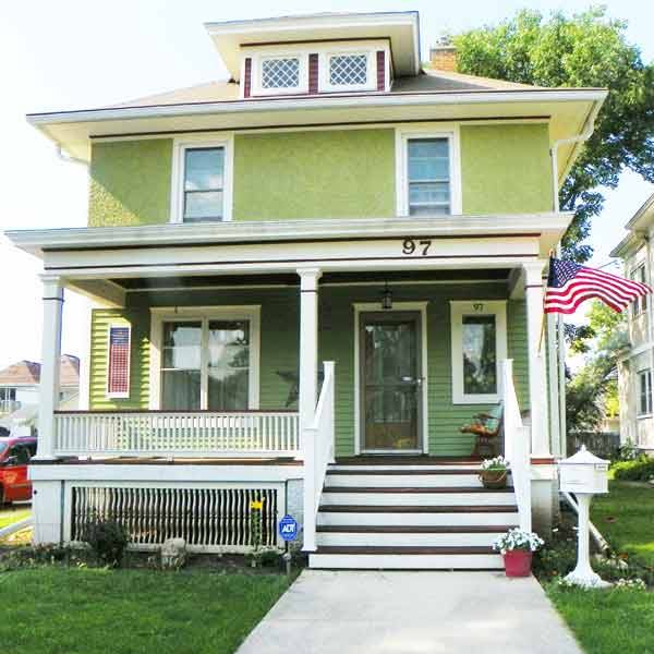 A Porch Of Pride After Best Curb Appeal Before And