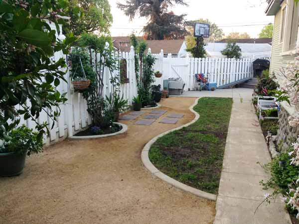 PoochFriendly Yard After  Best Yard Before and Afters 2014  This