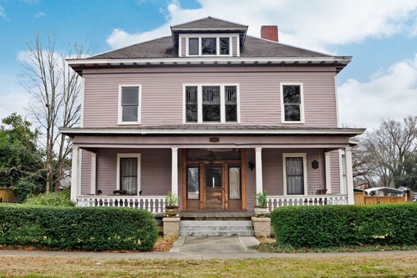 Historical Foursquare House Plan 31512gf: Historical Governor's Family Home