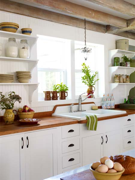 Wood Counter Style Refreshed Farmhouse All About Wood
