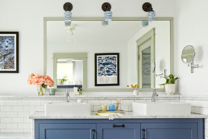 a family bathroom remodel
