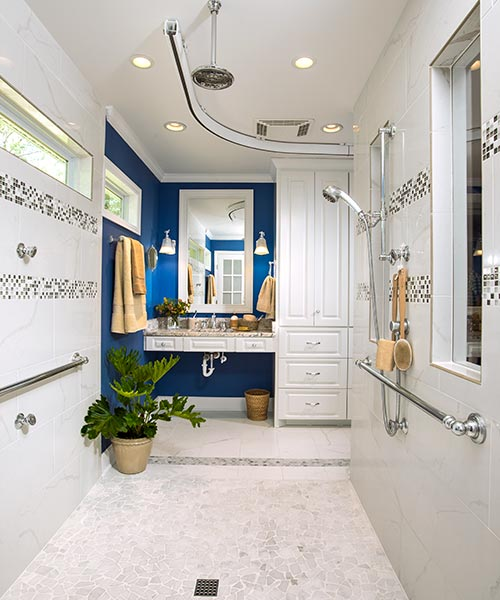 Design for ease in use after universal design master bath redo this old house for Universal design features in homes