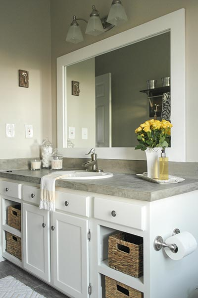Remove Vanity Doors 9 Easy Updates To A Builder Grade