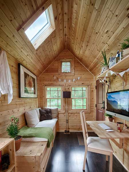 Hang Everything on the Walls 8 Tiny Houses that Have