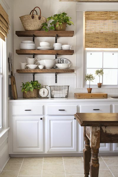 5 Dream Kitchen Must Haves: Must-Have: Airy Open Shelves
