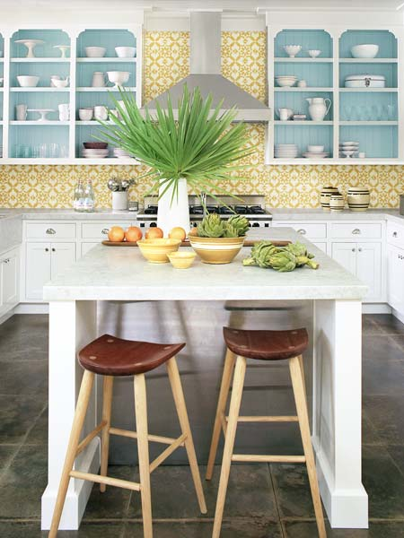 5 Dream Kitchen Must Haves: Must-Have: Cement-Tile Backsplash