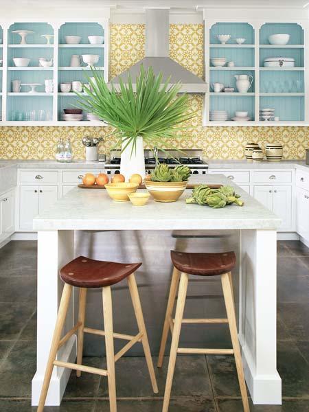 Must Have Elements For A Dream Kitchen: Must-Have: Cement-Tile Backsplash