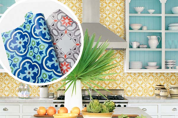 Must Have Elements For A Dream Kitchen: Cement-Tile Backsplash: Things To Consider