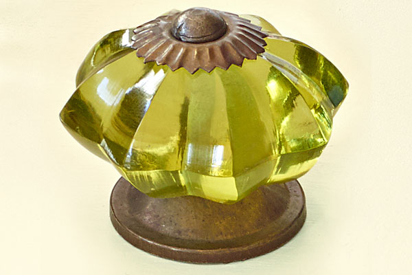 Glass Starburst Kitchen Cabinet Knobs