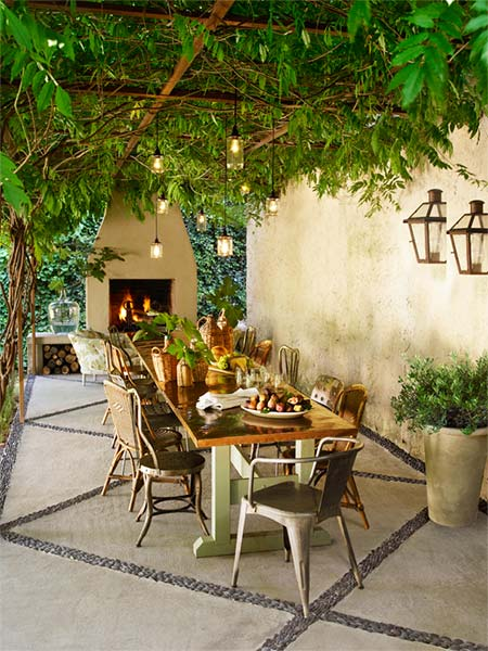 A Stylish Taste Of Italy Create A Tuscan Outdoor Room