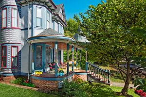 Queen Anne porch remodel in Franklin, IN