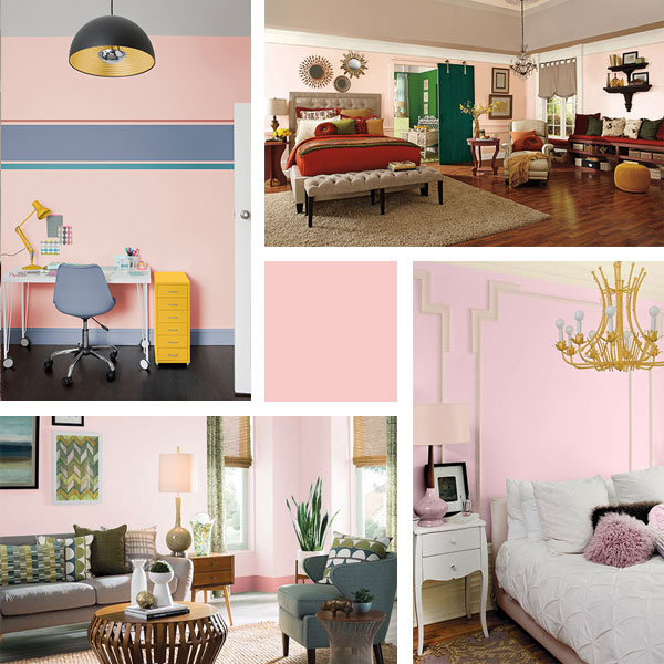 4 examples of pink similar to February 2016's Color-of-the Month, Rose Quartz