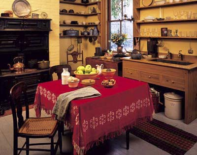 Harriet Beecher Stowe's kitchen