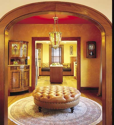 Art Deco seating room
