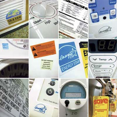 a grid filled with Energy Star certified products