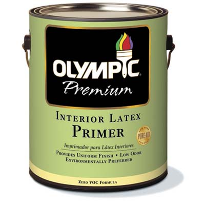 VOC-free primer for interior painting