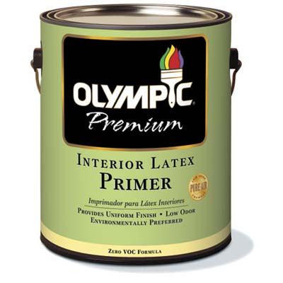 VOC-free primer for interior painting
