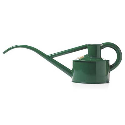 a classic watering can