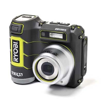 a waterproof digital camera and video recorder made for the jobsite