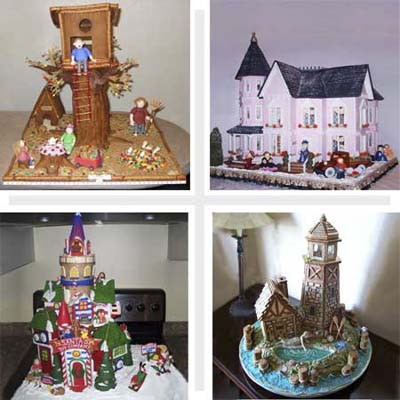This Old Gingerbread House Contest Winners gallery