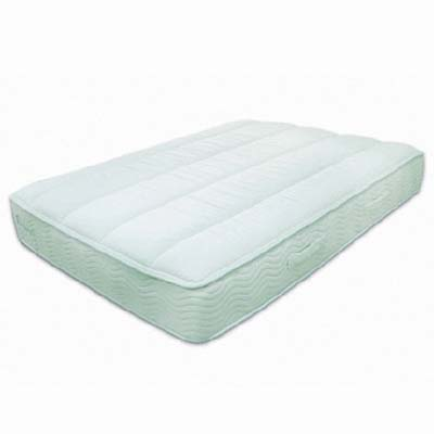 health-concious bed from EverGreen has green tea is embedded into the  memory foam