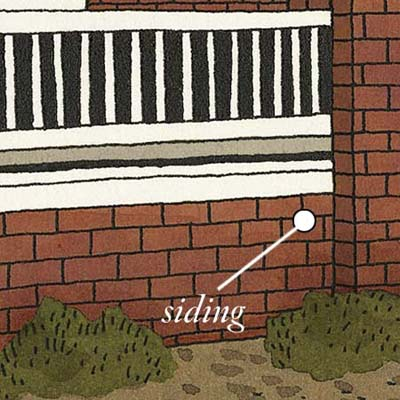 siding can increase flame resistance while protecting against moisture
