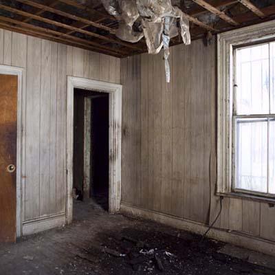 Roxbury, MA back bedroom before