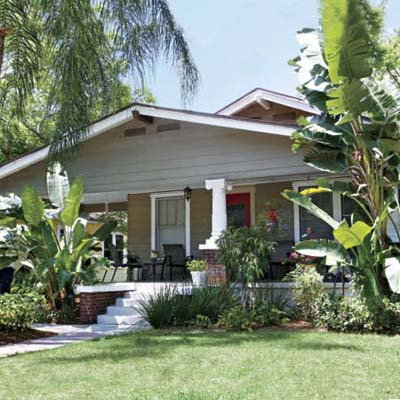 a bungalow in Seminole Heights, Tampa, Florida
