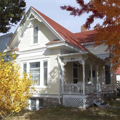 a Queen Anne style cottage in the Hi Bug District, Red Lodge, Montana