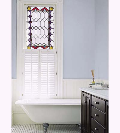Italianate townhouse master bath