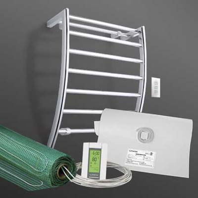 towel warmer defogger Spa Package