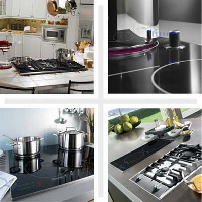 eight sizzling cooktops