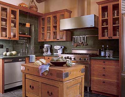 Rustic Kitchen Ideas on The Waltons  21 Century Kitchen   Beautiful Kitchens   This Old House