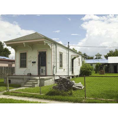 front of the new orleans project house