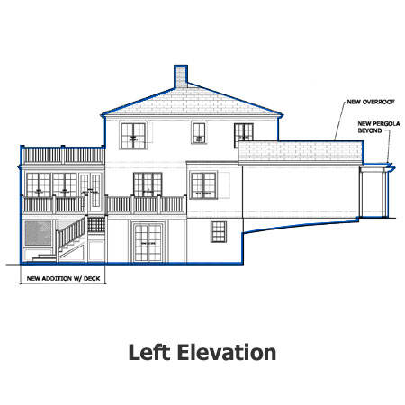 aurburndale project left elevation