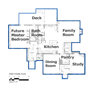 bedford house first floor plan