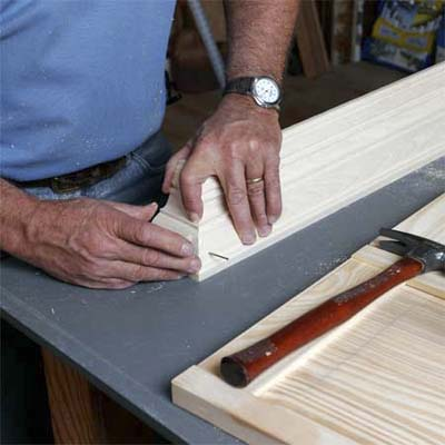 Create the Crown Molding Top