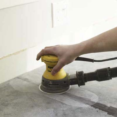 smooth the seams