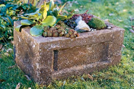 How to Make a Garden Trough