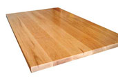 woods and wood combinations to use for butcher-block countertops