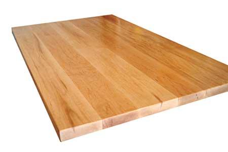 Wood butcher block