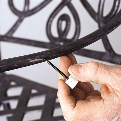 Frame Touch Up How To Repair Aluminum Patio Chairs