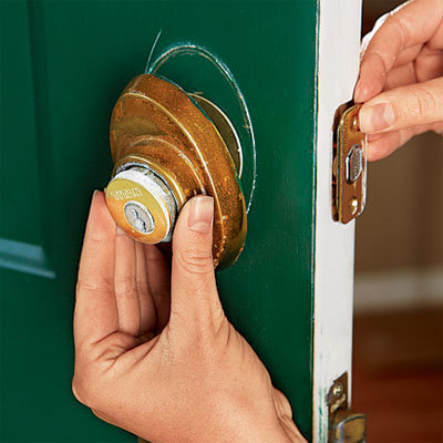 Remove The Old Entry Set How To Upgrade Front Door