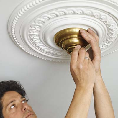 ceiling medallion trim molding
